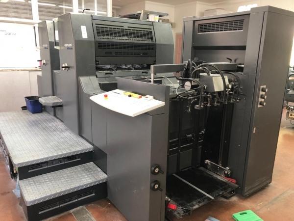 Heidelberger Printmaster PM74-2-P - sehr gepflegte Maschine