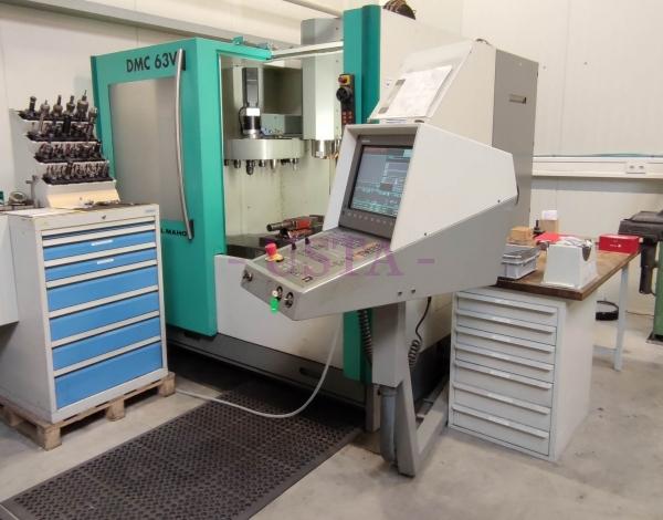 Maho Deckel-DMC63V-Vertikal-Bearbeitungszentrum