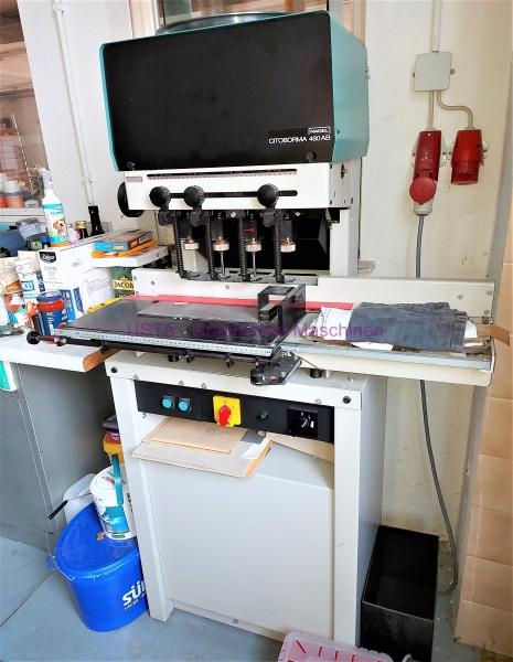 Papierbohrmaschine - Nagel Citoborma 480 AB
